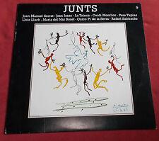 JUNTS COMPILATION ARTISTES CATALANS  LP ART COVER PICASSO