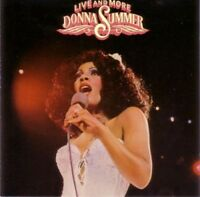 DONNA SUMMER CD LIVE & MORE 17 Tracks Prod by Giogio Moroder