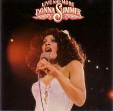 DONNA SUMMER CD LIVE & MORE 17 Tracks Prod by Giogio Moroder