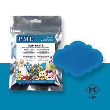 PME Cake Icing Sugar Modelling Sugarpaste Gum Paste Decoration Blue200g (7oz)