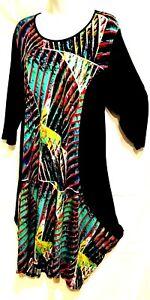 plus sz XS 14 TS TAKING SHAPE Harlequin Slouch  Dress stretch NWT! rrp$130
