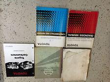 1985 Toyota TRUCK DIESEL Service Shop Repair Manual Set W Speed Control Book +