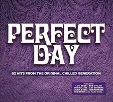 PERFECT DAY NEW 3CD ~ 1960's Greatest Hits The Move,Cat Stevens,Donovan + More
