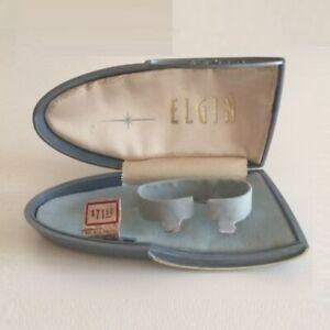 Scatola ELGIN Vintage Watch Box 6.5 13 cm