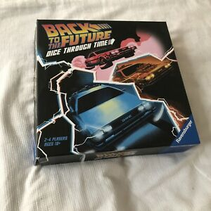 Back To The Future Dice Through Time Board Game - Ravensburger - COMPLETE