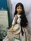 """Vintage Master Piece Melati 33"""" Porcelain Doll. 386/1500. New/original packaging"""