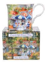NEW French Cafe Fine Bone China Palace Tea Coffee Mug Cup Stoke on Kent