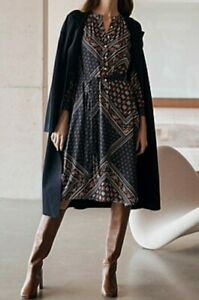 BNWT Trenery by Country Road Dress Size 10 12 14 S M L MOROCCAN DRESS RR$199 NEW