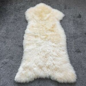 Sheepskin Rug Cream 115 CM NEW!