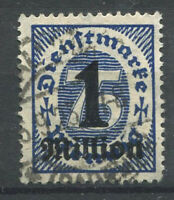 Deutsches Reich 1923 Mi. 96 Gestempelt 100% dienstmarken 1 Million