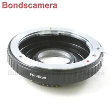AF Confirm Pentax K PK Mount Lens to Nikon F Camera Optical Adapter D750 D5200