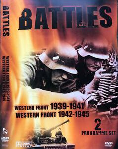 Battles DVD Western Front 1939-1941 + 1942-1945 EDU War History