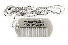 Comb Tag mobiler Bartkamm von Bartpracht - Bartschmuck Bartpflege für Unterwegs