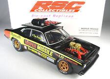 RSC 1972 PLYMOUTH DUSTER MOPAR MISSLE PRO STOCK CAR 1:24 NHRA DRAG RACE DIECAST