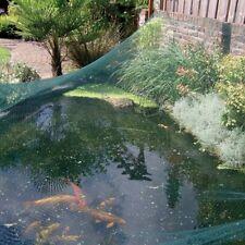 Teichnetz Laubnetz Gartennetz, UV-stabilisiertes Polyethylen, 4 x 10 m, grün