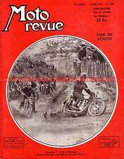 MOTO REVUE 1027 GILERA KELLER SCOTO MOSQUITO 200 250 ARDIE MONNERET Montreuil