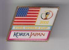 RARE PINS PIN'S .. FOOTBALL SOCCER WORLD CUP FIFA 2002 JAPON TEAM USA ~DC