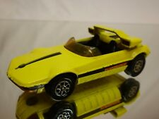 CORGI TOYS WHIZZWHEELS  Fiat X 19 -BERTONE RUNABOUT BARCHETTA - YELLOW 1:43 GOOD