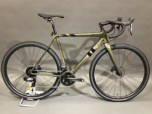 2020 Cannondale SuperX Force eTap AXS 54cm Cyclocross Bike Carbon MSRP $7050
