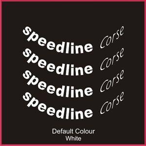 """Speedline 2118 Wheel Decals 15/16"""" X8,Vinyl, Sticker ,Car, Wheels, N2043"""