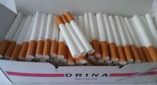 200x Empty Tobacco Cigarette Filter Tubes FDS Drina King Size