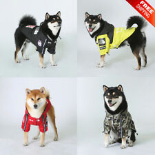 Dog Clothes Shirt Jacket Windproof Fashion Waterproof Pet Clothing Outfits Sport