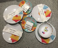 Tommy Bahama 100% Melamine Indoor / Outdoor Dinnerware (See Variations)