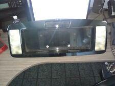 2005 Cadillac SRX rear license plate finish panel