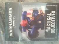 WARHAMMER 40K 8TH EDITION TACTICAL OBJECTIVE CARDS - NEW & IN STOCK