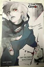 Anime Expo AX 17 2017 Tokyo Ghoul Movie Funimation 2-sided Poster