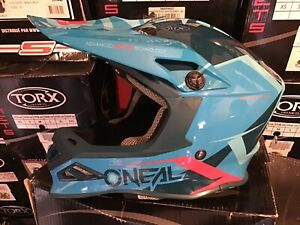 Casque Cross Neuf O Neal Serie 8 Blizzard Taille L