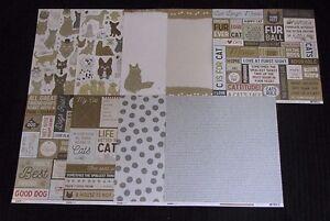 "Kaisercraft 'PAWFECT' 12x12"" Paper Dogs/Cats/Pets (You Choose) NEW KAISER 03/17"