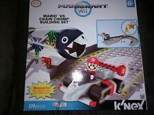 Mariokart Wii K'Nex Set: Mario Vs Chain Chomp Building Set, 124 Piece!