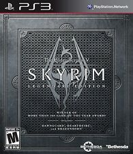 New! The Elder Scrolls V: Skyrim (Legendary Edition) (PlayStation 3, 2013)
