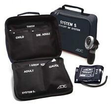 ADC System 5 MultiCuff Palm Aneroid Sphygmomanometer Blood Pressure Kit w 5 Cuff