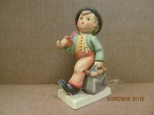 Vintage Goebel Hummel Figurine #11 2/0 Merry Wanderer Nice Piece!