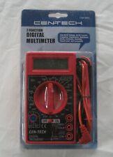 Cen-tech 7 Function Digital Multimeter - Nip
