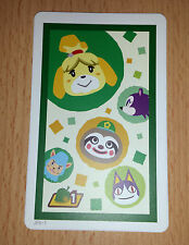AR Karte Ar Card für Nintendo 3DS App Spiel Photos with Animal Crossing #1 Nr 1