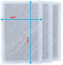 Dynamic Air Cleaner Air Filter 20x25 Refill Replacement Filter Pads White 3-Pack