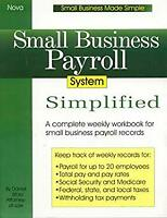Small Business Payroll System Simplified Paperback Daniel Sitarz