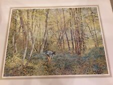 William Tacke Original Limited Edition Lithograph Art #143/290 Signed, Excellent