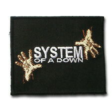 System of a Down Patch Iron on Band Jacket Biker Punk Metal Rider Vest Rock V2