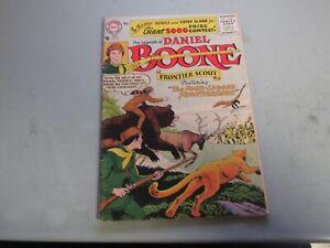 Legends of Daniel Boone #8 Comic Book  1956   SCARCE