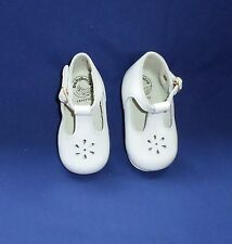 BABY GIRL BABY BOTTE FRENCH WALKING SHOES WHITE Size 2 Vintage