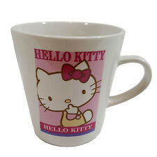 Genuine Sanrio Hello Kitty Kids Mini Apple & Tree Theme Light Pink Mug Cup