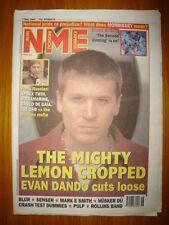 NME 1994 MAY 7 LEMONHEADS MORRISSEY ROSES BLUR PULP ORB