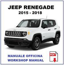 JEEP RENEGADE 2015-2018 Workshop service Manuale officina istruzioni riparazione
