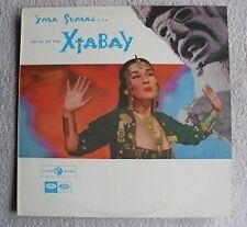 "Yma Sumac Exotica Voice of  Xtaby Lounge Easy Pop Mono 33rpm 12"" LP Vinyl Record"