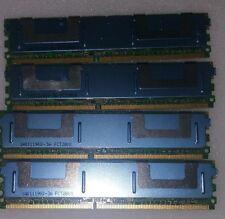 8GB (4X2GB) MEMORY RAM FOR DELL POWEREDGE 1950 III 2900 III 2950 III
