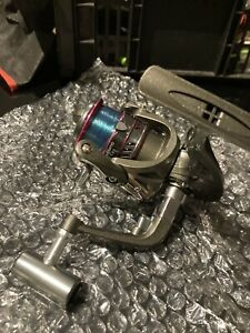 fishing rod and reel combo 2piece carbon fibre rod 1.8mwith 13 bearing reel